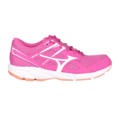 MIZUNO SPARK 6 女慢跑鞋-路跑 運動 訓練 美津濃 K1GA210403 桃紅白橘