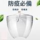 [五入組] 面罩頭戴式 透明防護面罩 防飛沫 防疫面罩(可戴眼鏡) product thumbnail 1
