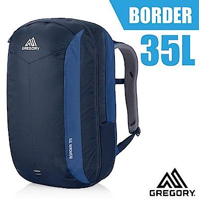 美國 GREGORY 新款 Border 35 專業輕量電腦後背包_印第哥藍
