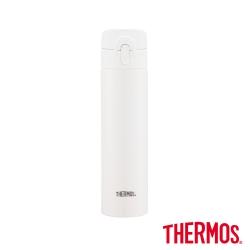 THERMOS膳魔師 超輕量彈蓋 不鏽鋼真空保溫瓶0.4L(JNI-401-MVAN)