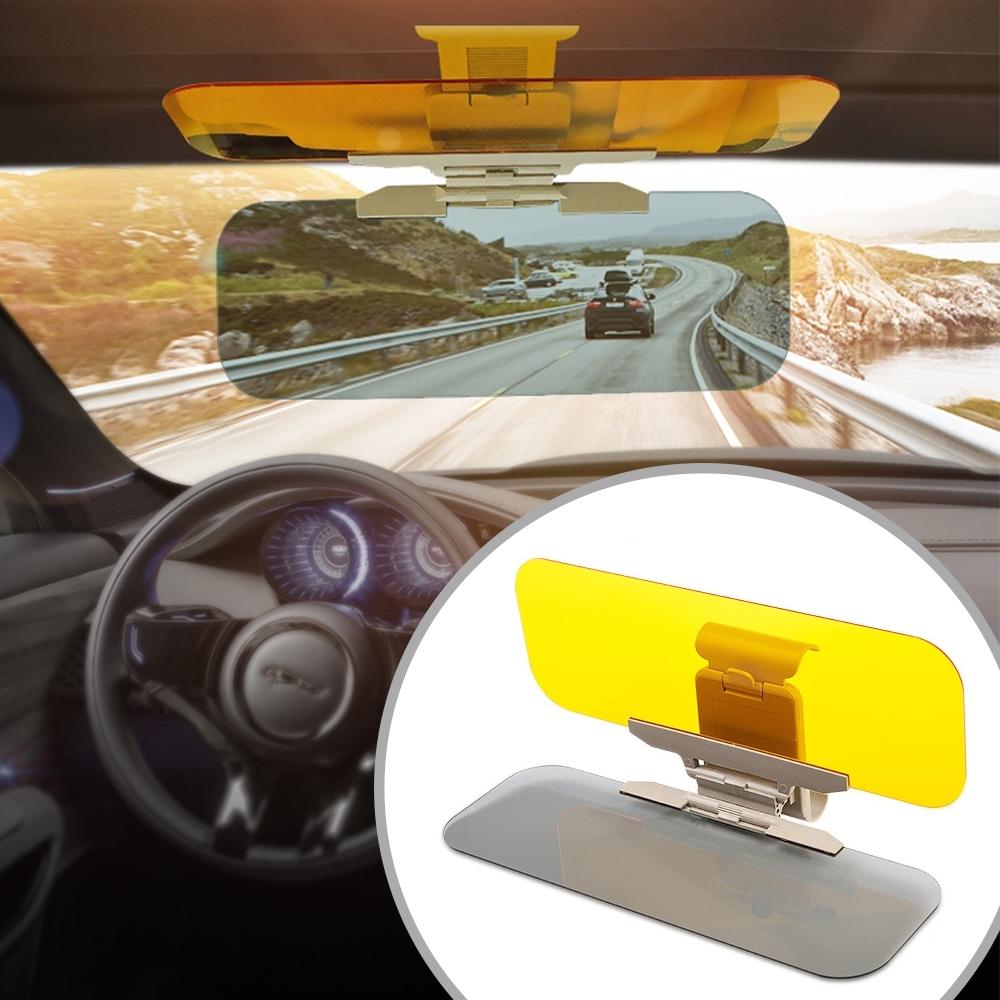 【車用二合一】汽車遮陽鏡夜視鏡