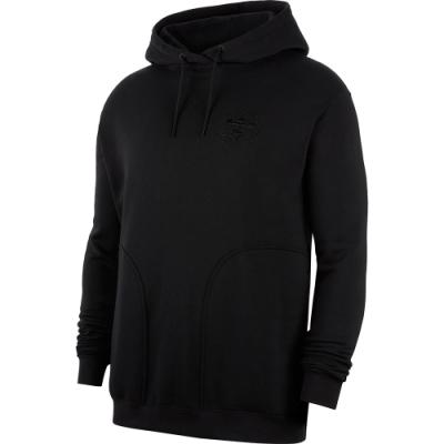 NIKE 上衣 長袖上衣 連帽 帽T 運動 慢跑 健身 男款 黑 CK6767010