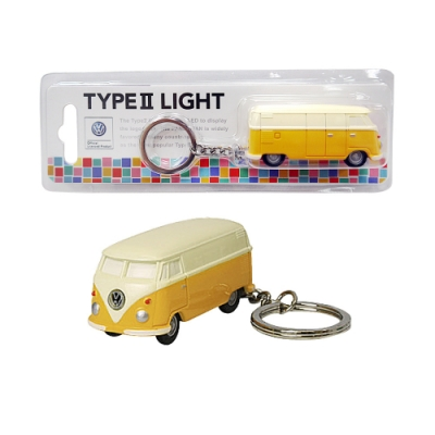 Dreams VW福斯授權LED小巴士鑰匙圈- 黃