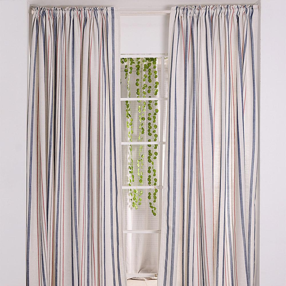伊美居  嘉瑞半腰窗簾-單片130x165cm (共2片)