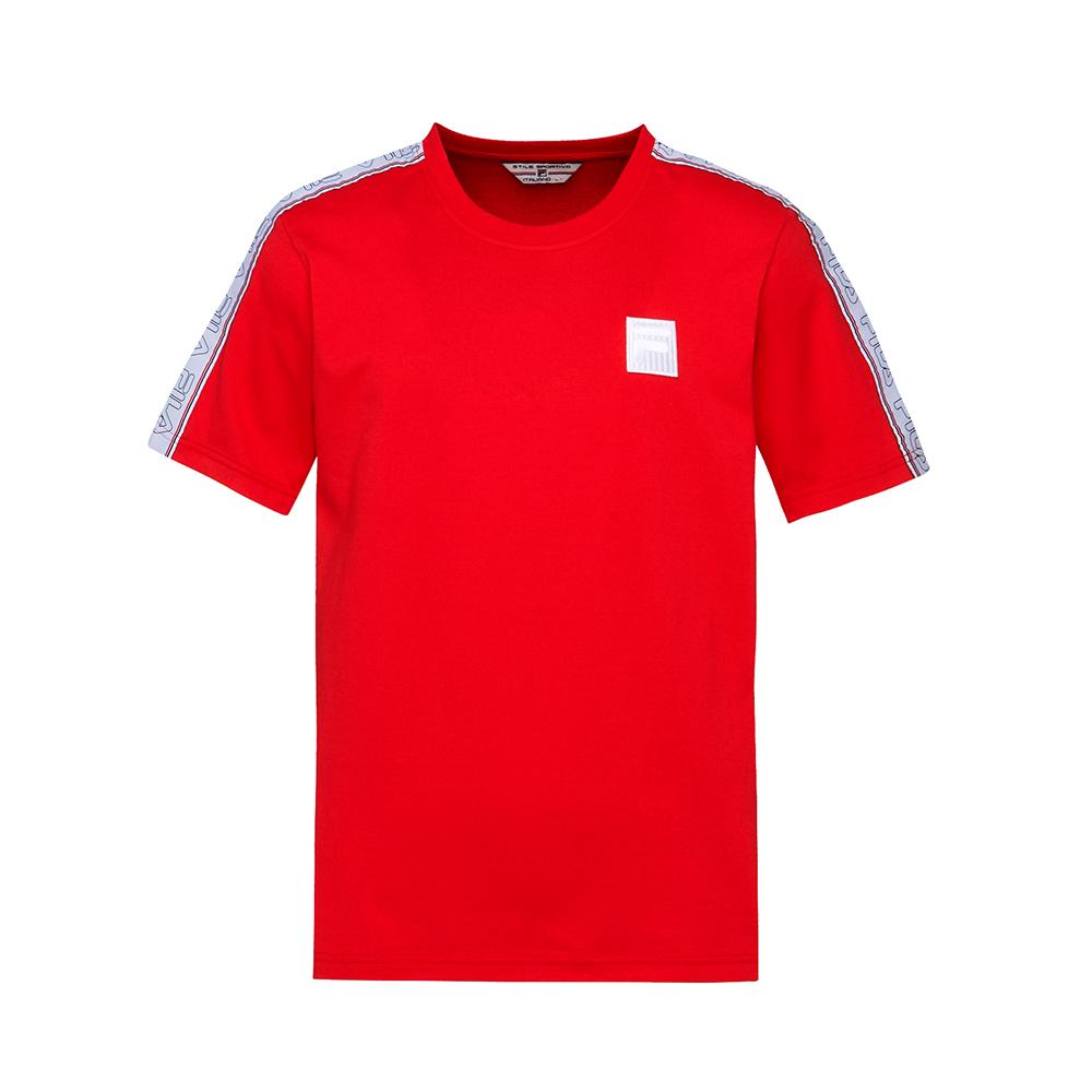 FILA #東京企劃-原宿篇 短袖圓領T恤-紅 1TES-5431-RD