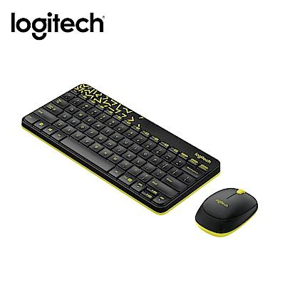 羅技 MK240 Nano 無線鍵鼠組-黑色