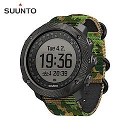 SUUNTO Traverse Alpha 專為狩獵釣魚征服叢林野外的GPS腕錶-迷彩綠