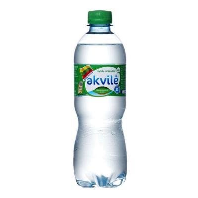 【立陶宛akvile】愛可麗-氣泡天然礦泉水(500ml*24瓶)