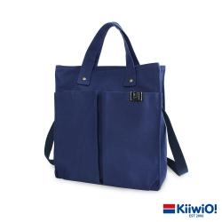Kiiwi O! 英式經典系列兩用帆布托特包 KAREN 藍