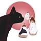【Uin】西班牙原創設計-貓和蝶彩繪休閒女鞋W1109548 product thumbnail 1