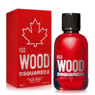 DSQUARED2 RED WOOD 心動紅女性淡香水50ml