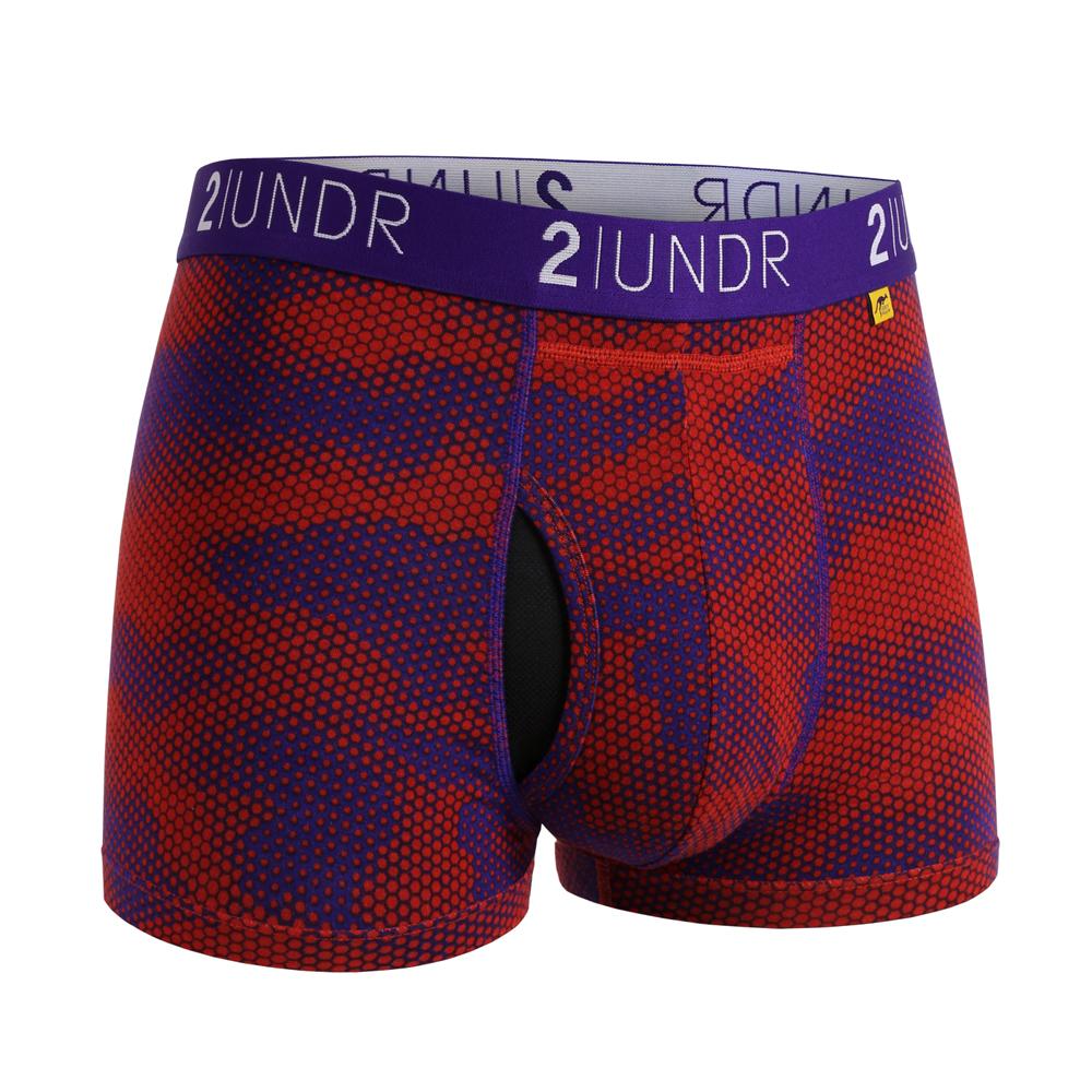 2UNDR莫代爾吸排四角內褲(3吋)- LAVA