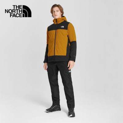 The North Face北面男款黑色防水透氣保暖衝鋒褲|4NA9JK3
