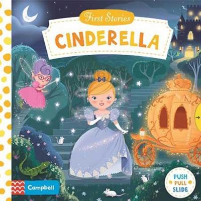 First Stories:Cinderella 灰姑娘硬頁拉拉操作書