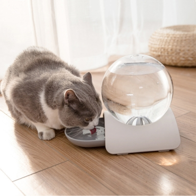 泡泡寵物自動飲水機 自動續水餵水神器 貓咪狗狗 水碗 水盆