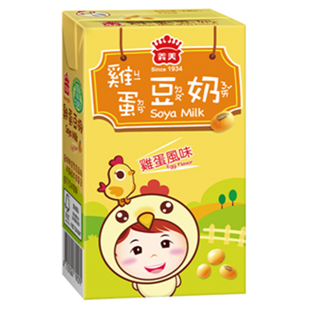 義美 雞蛋豆奶(250mlx24入)