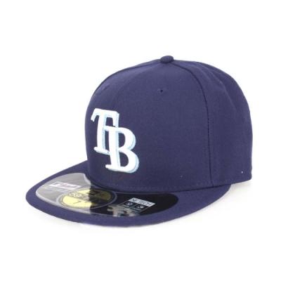 MLB 光芒隊-NEW ERA 帽AC 丈青水藍白