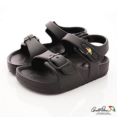雨傘牌 超輕簡約涼鞋款 EI83845黑(中小童段)