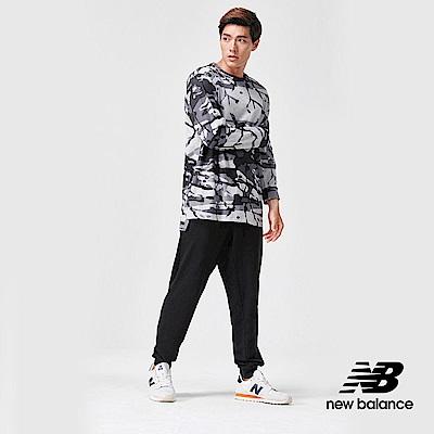 New Balance長袖T恤MT91049OTS男性黑色