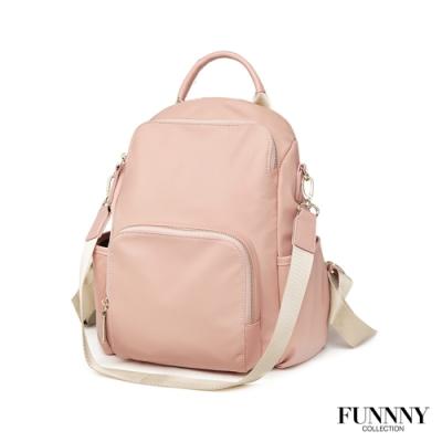 FUNNNY 防盜後背包系列 Raina 山茶花粉