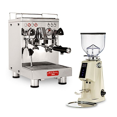 惠家KD-310VP義式半自動咖啡機 220V+Fiorenzato F4E營業用磨豆機
