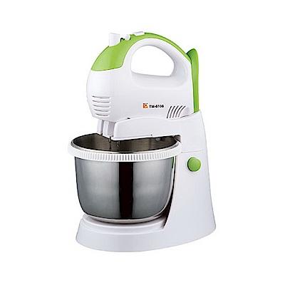 (福利品)麵糰大師 DaHe 手持/立式兩用美食攪拌機打麵器 TM-6108s 二代強力型
