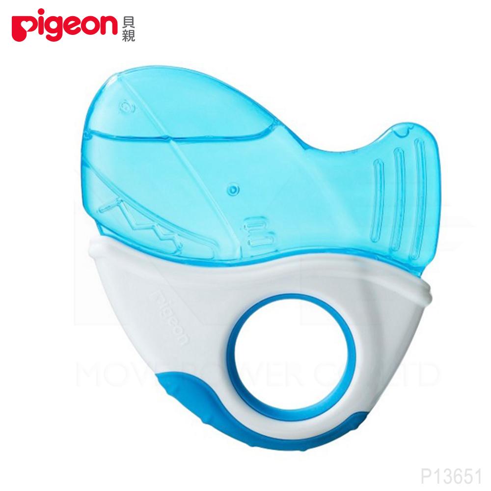 【任選】日本《Pigeon 貝親》冰涼固齒器(鯊魚)
