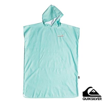 【QUIKSILVER】MINIPACK TOWEL 浴巾衣 淺綠