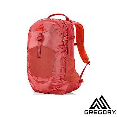 GREGORY 新款 Sucia 28L 日常多功能避震型透氣科技後背包_紅褐