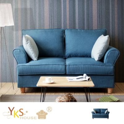 YKS-挪威雙人座布沙發-獨立筒版