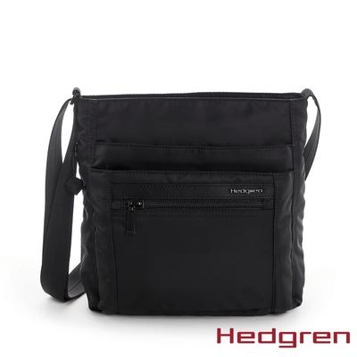Hedgren INNER CITY四層收納 側背包 墨黑