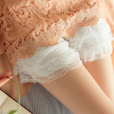 東京著衣-YOCO 蛋糕蕾絲內搭短褲(共二色)