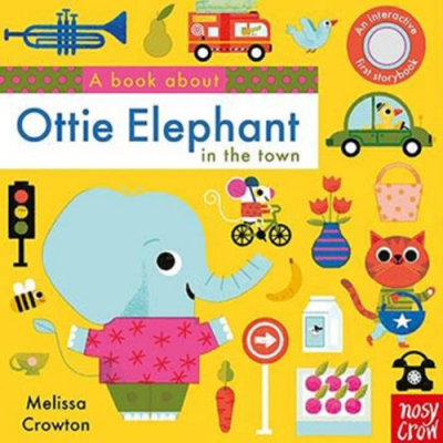 A Book About Ottie Elephant In The Town 硬頁學習書