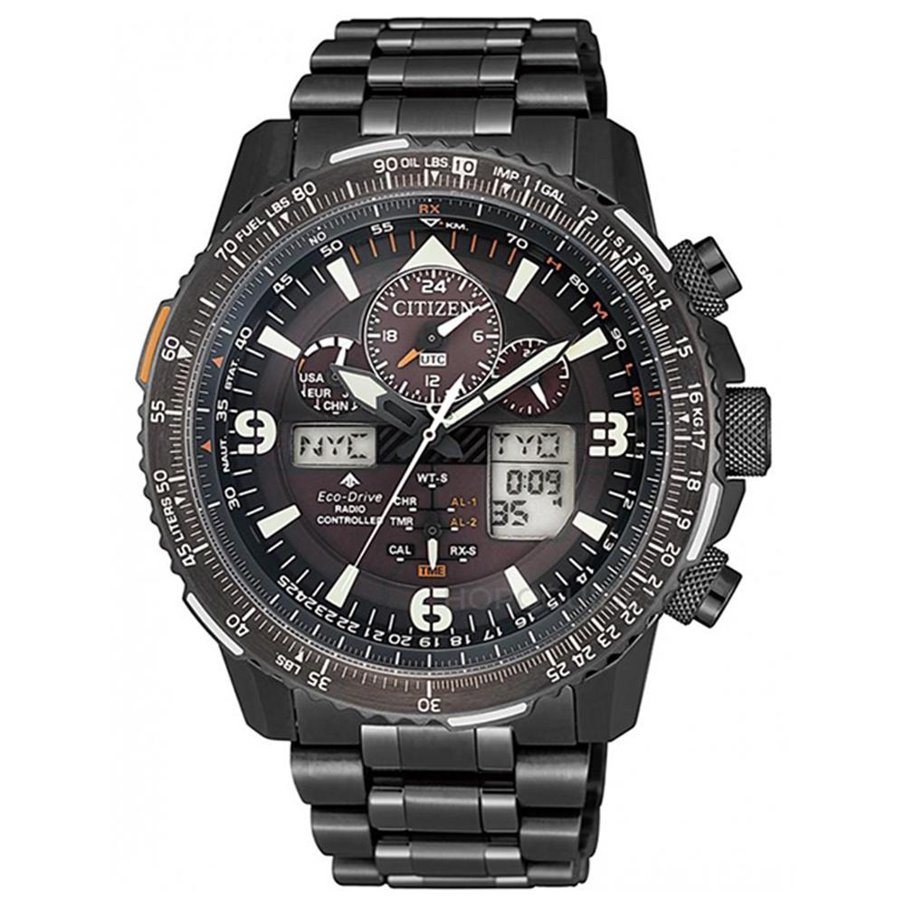 CITIZEN 星辰限量SKY系列電波萬年曆腕錶45.5mm(JY8085-81E) @ Y!購物