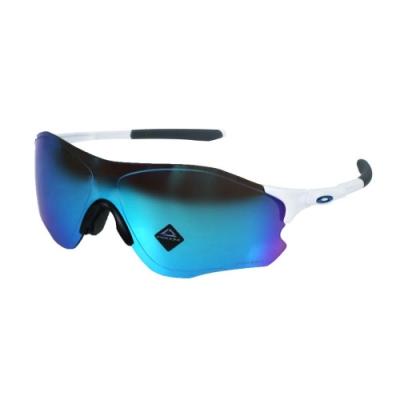 OAKLEY EVZERO PATH一般太陽眼鏡-附硬盒鼻墊  抗UV 單車 OAK-OO9313-1538 白藍
