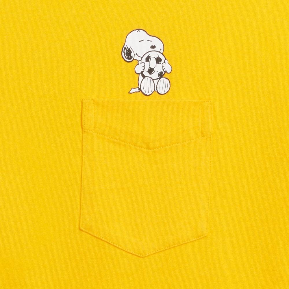Levis X Snoopy sport限量聯名 男款 短袖口袋T恤 迷你史努比插畫印花 袖口Logo印花