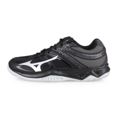 MIZUNO 男女 排球鞋 THUNDER BLADE 2 黑灰銀