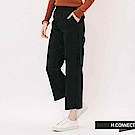 H:CONNECT 韓國品牌 女裝 -立體縫線寬褲-黑