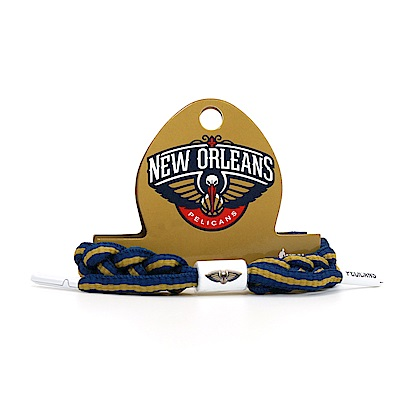 RASTACLAT NBA經典鞋帶手環 鵜鶘隊