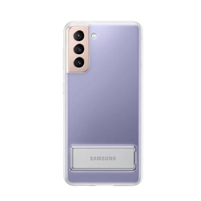 SAMSUNG Galaxy S21 5G 原廠立架式背蓋_透明(台灣公司貨)