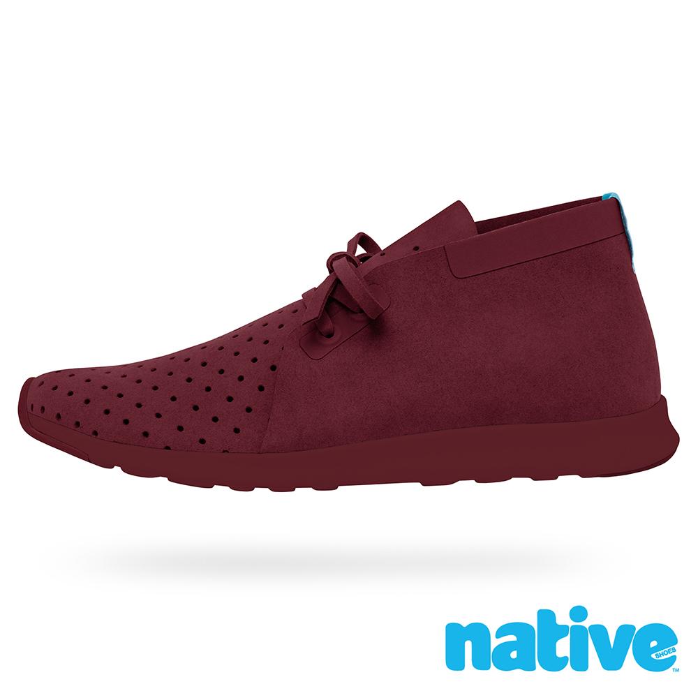 native APOLLO CHUKKA 男/女鞋-葡萄紅