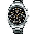 WIRED 東京玩家太陽能計時手錶(AY8028X1)-黑/40mm