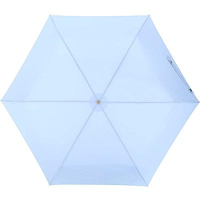 LONGCHAMP Le Pliage Micro 手動摺疊傘(水藍色)