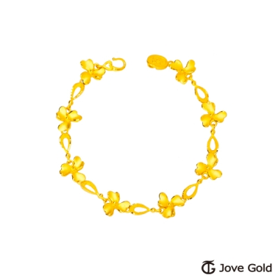 Jove Gold 漾金飾 瑰麗黃金手鍊