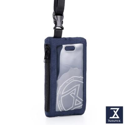 74盎司 Life 頸掛手機兩用包[TG-235-Li-T]深藍