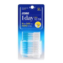 韓國2080 一次性矽膠牙間刷30入(SSS)