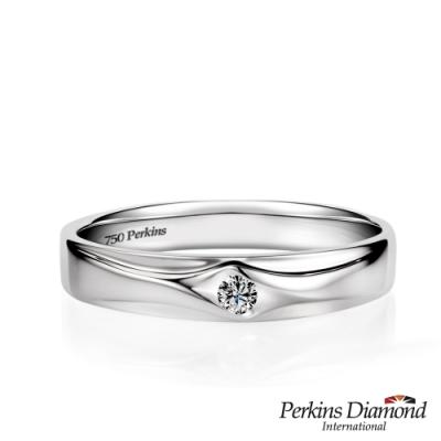 PERKINS 伯金仕 - Classic系列 0.05克拉 18K金鑽石戒指