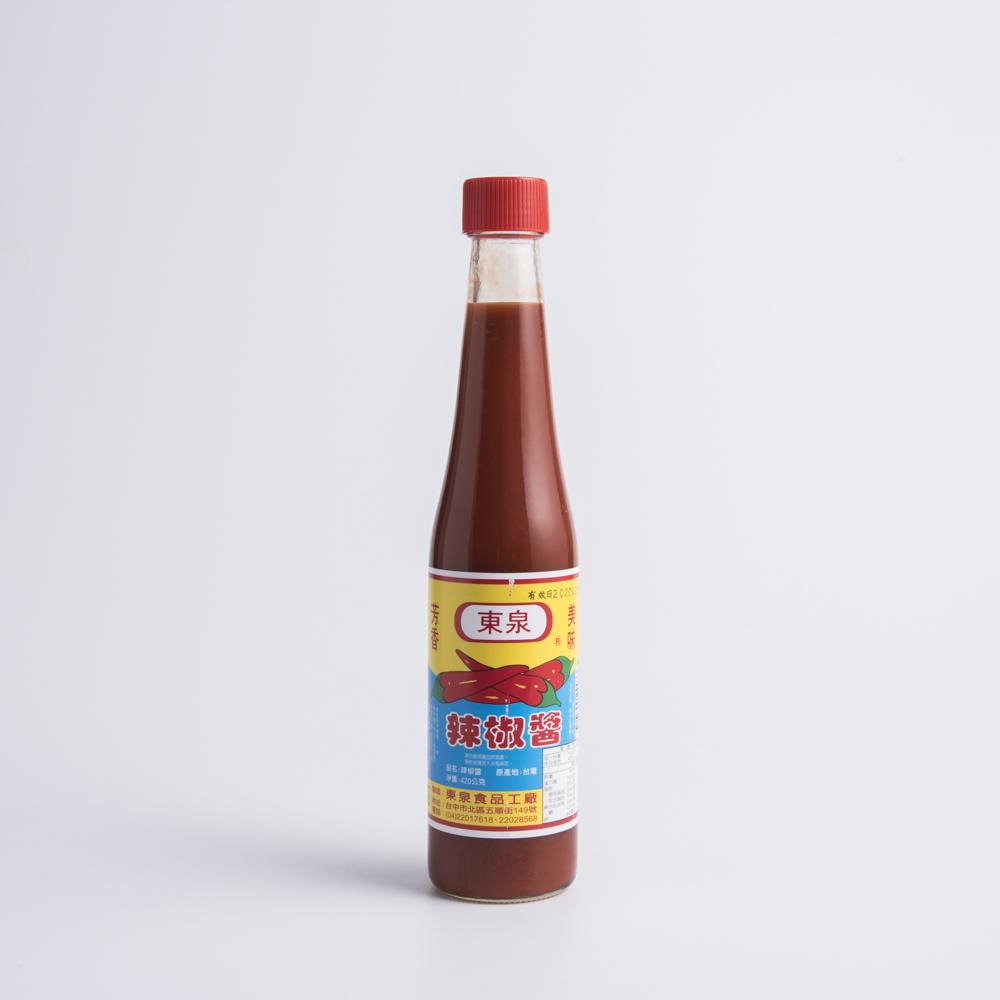 台灣東泉 辣椒醬 420g