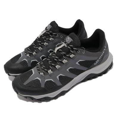 Merrell 戶外鞋 Fiery GTX 防水 男鞋 登山 越野 穩定 支撐 抗菌 防臭 黑 灰 ML16603