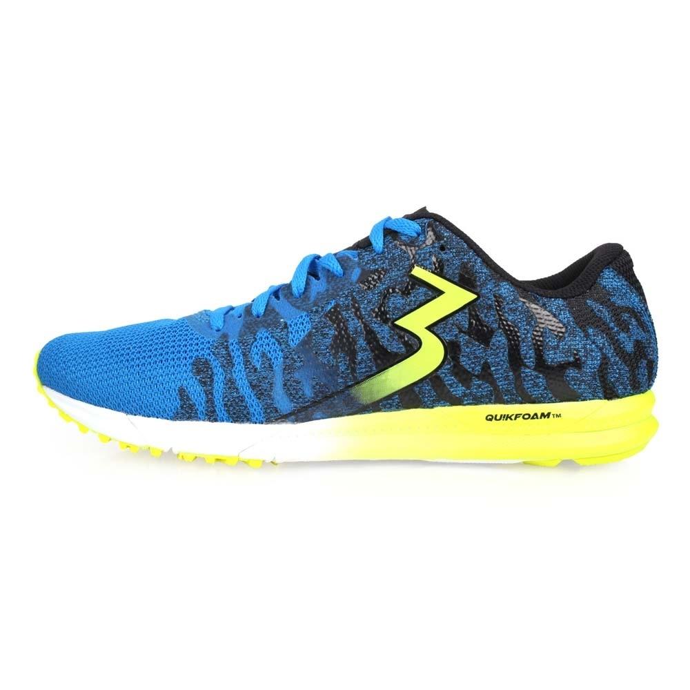 361度 361° 男慢跑鞋-訓練 路跑 藍芥末綠